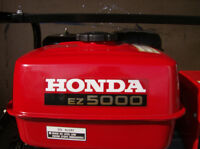 Light Use Honda 5000 watt Generator