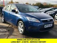 2009 FORD FOCUS STYLE 1.6 LONG MOT FULL SERVICE HISTORY 2 KEYS 5DR 100 BHP