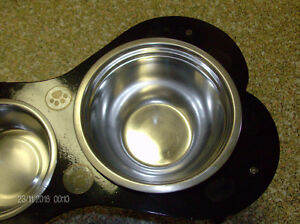 Funky/Fun/Industrial, Heavy Duty Steel Pet Feeding Station Stratford Kitchener Area image 7