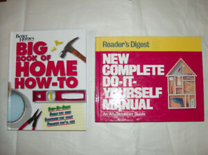 2 Home Renovation Books - Do It Yourself Manuals
