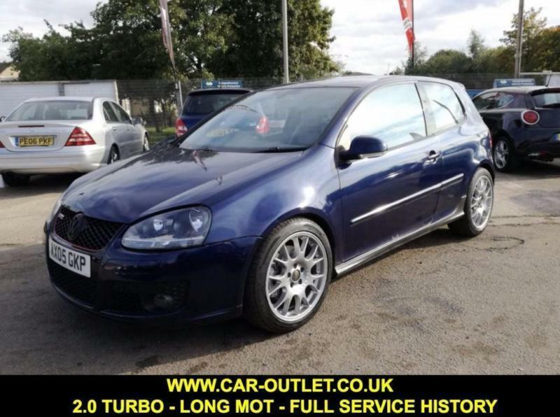 2005 VW GOLF GTI 2.0 PETROL LONG MOT FULL SERVICE HISTORY 2 KEYS