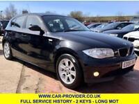 2006 BMW 116I SE LOW MILES FULL SERVICE HISTORY 2 KEYS LONG MOT1.6 5DR 114 BHP