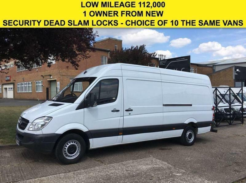 ae65a0e61c96c7 2013 13 MERCEDES-BENZ SPRINTER 2.1 313CDI LWB HIGH ROOF 130BHP. 1 OWNER.  LOW MIL