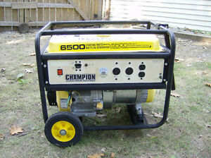 Generator Champion 6500 surge / 5500 rated watt. Runs Good!