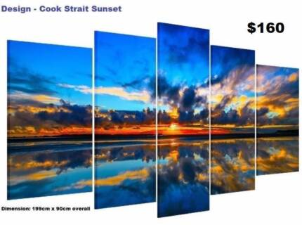 Extra Large Split Framed Canvas Prints ! Modern Art Paintings
