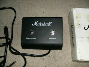 MARSHALL AMP 2 BUTTON FOOTSWITCH