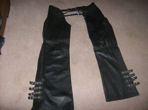 100% all leather motorbike apparel   made in canada Regina Regina Area image 4