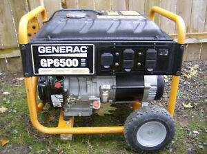 Generator GENERAC GP6500 / 8000 Surge Runs Good! 120/240 Volt