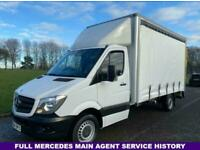 Mercedes Sprinter 313Cdi 3.5t.13ft 9in (4m) Curtain side/Luton Body, Tail Lift