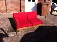 Sofa - Two seat recliner