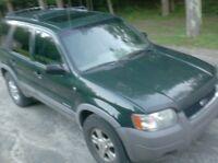 2001 Ford Escape 4x4