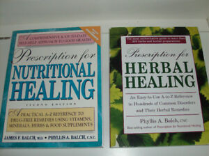 Like New Prescription for Nutritional Healing + Herbal Healing