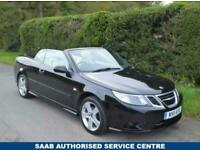 2011 Saab 9-3 2.0 LINEAR SE 2d 150 BHP Convertible Petrol Manual