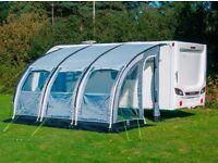 Caravan awning suncamp