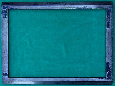 American Type Founders Chase Letterpress Linotype Printing Frame 20.5 X 15.5