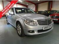 2009 59 MERCEDES-BENZ C CLASS C180 KOMPRESSOR BLUEEFFICIENCY SE 1.6 4D AUTO