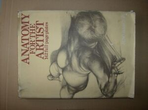 Book . ANATOMY FOR THE ARTIST,142 full plates,1973,from HUNGARY