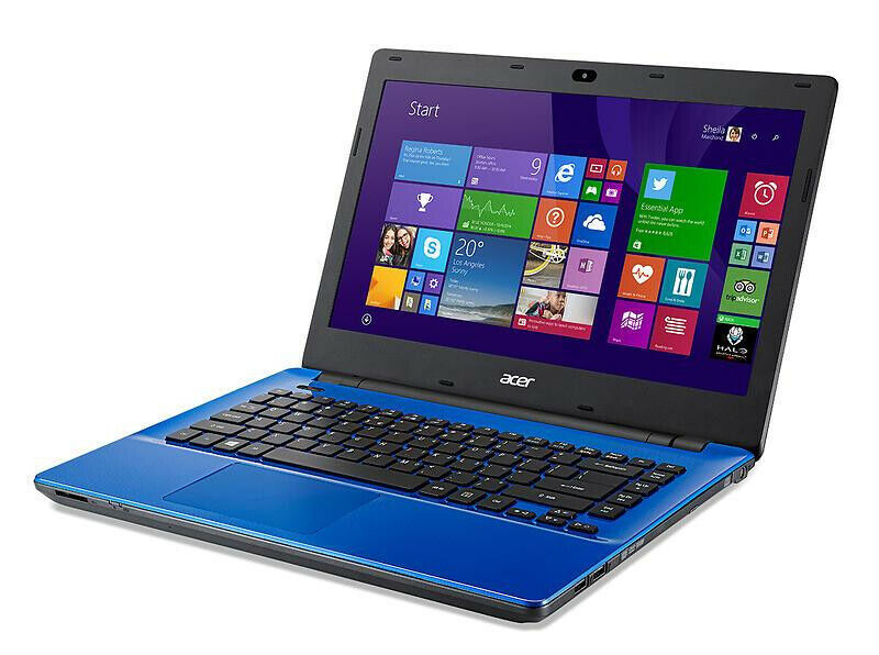 "Laptop Windows - Acer Laptop Blue 14"" 500GB HDD 2GB RAM WIFI WEBCAM Intel Celeron Windows 8"