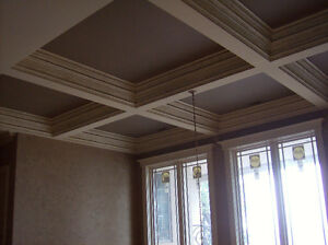 Exterior Stucco Trim & Interior Plaster Crown Moldings & Columns Stratford Kitchener Area image 3