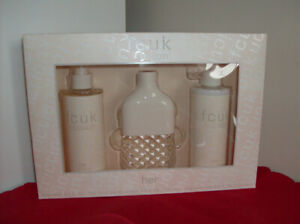 NEW Gift Ideas - 3 Pc Friction Perfume Set + Necklace & Earrings