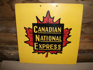 Canadian National Sign