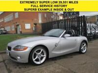 2005 05 BMW Z4 2.0 SE ROADSTER CONVERTIBLE 148BHP. EXTREMELY LOW 29,500 MILES.