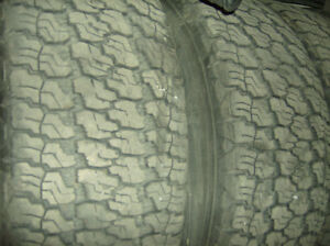 4 Mounted Good Year Silent Armour Tires