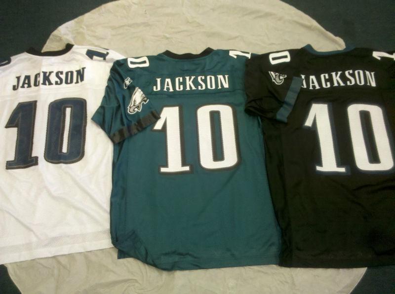 8a5af843 DESEAN JACKSON #10 PHILADELPHIA EAGLES ADULT REEBOK NFL REPLICA ...