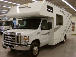 CLASS C MOTORHOMES FOR SALE WITH ONE YEAR POWERTRAIN WARRANTY!!!