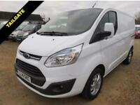 2014 14 FORD TRANSIT CUSTOM 2.2 TDCI 310 LIMITED LOW ROOF 125 BHP WITH REAR TAIL