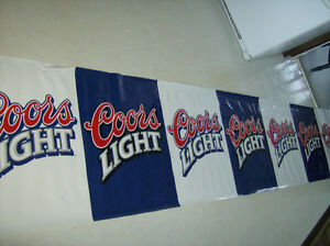 Bar Wall Hangings, Coors Light, and Southern Comfort
