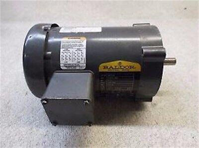 Baldor 13 Hp Motor 1725 Rpm 230460 Volt Frame 56c 3 Ph