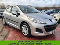 2010 PEUGEOT 207 S 1.4 HDI LOW MILES FULL SERVICE HISTORY 2 KEYS DIESEL 5DR