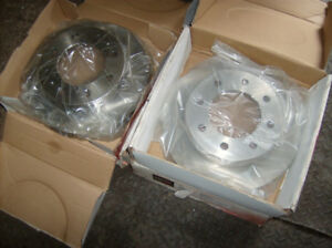 Front and rear Rotors for Chev & GMC Trucks New in Box $40.00 Ea