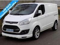 14(14) FORD TRANSIT CUSTOM LIMITED L1H1 270 SWB LOW ROOF 2.2 125BHP 6 SPEED