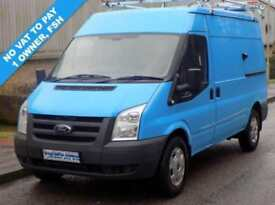 11(11) FORD TRANSIT 330 MWB MEDIUM ROOF 2.2 FWD 115 BHP 6 SPEED EX GAS NO VAT