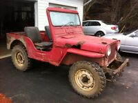 1952 Jeep M38 parts wanted
