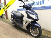 2014 14 SINNIS MATRIX II 125 BLUE - SPARES OR SALVAGE - VERY LOW MILEAGE!!!