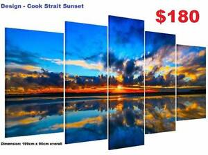 Split Canvas Prints ! 20 Designs! Extra Large Modern Framed Arts Baldivis Rockingham Area Preview