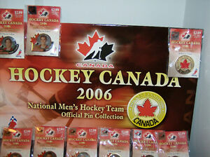 National Men's Hockey Team Official Pin Collection (2006)