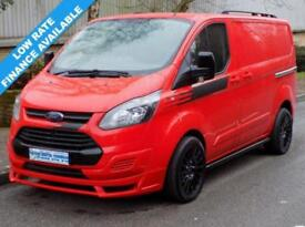 64(14) FORD TRANSIT CUSTOM L1H1 330 SWB LOW ROOF 2.2 125BHP EURO5 RACE RED