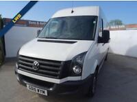 2015 15 VOLKSWAGEN CRAFTER 2.0 CR 35 TDI LONG WHEEL BASE 161 BHP DIESEL