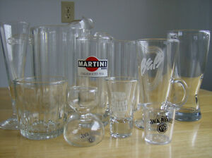 Lot of Bar/Lounge/Restaurant Glasses