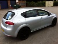 """CHEAPEST 2008 SEAT LEON 1.9 TDI LOW MILEAGE 2 KEYS 1 OWNER FROM NEW 17""""BLACK ALLOYS SERVICE HISTORY"""