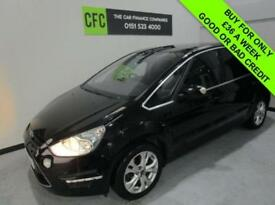 2011 61 FORD S-MAX 2.0 TITANIUM TDCI 161 BHP DIESEL BUY FOR ONLY £36 A WEEK