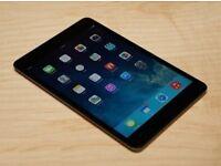 Apple iPad mini 32GB, Wi-Fi + Cellular (Unlocked), 7.9in – Black with keyboard