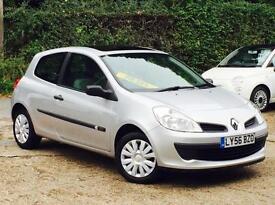 2007 Renault Clio 1.5dCi 86 Expression DIESEL 3 Door Silver 68k Miles £30 Tax!!!