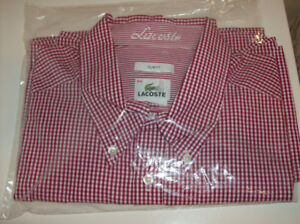 NEW LaCoste and American Eagle  Size XXL   2 Mens Shirts