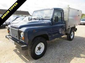 2013 13 LAND ROVER DEFENDER 110 4X4 TIPPER WITH FORESTRY / ARBOR BODY
