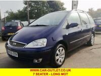 2005 05 FORD GALAXY ZETEC 1.9 TDCI 7 SEATER 5DR 130 BHP DIESEL